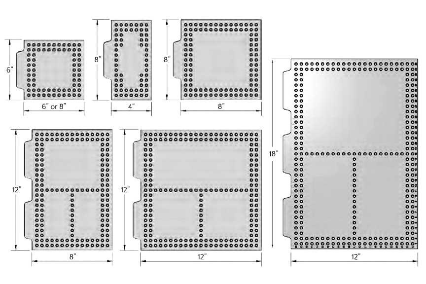 Polycarbonate Fixture Plates