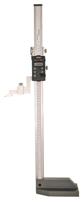 "Digit Readout Dial Height Gage Range 0-12/"" Carbide Tip"