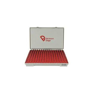 Vermont Gage, Standard Class ZZ Pin Gage Set, .0060 to .0600, Plus, Steel, 101100100