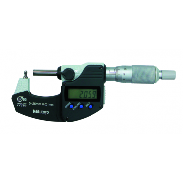 Mitutoyo, Digital Tube Micrometer, Type B 0-1inch, Digimatic, IP65, 395-362-30