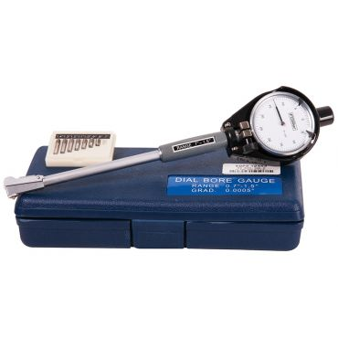 """Fowler, 0.7"""" - 1.5"""" Dial Bore Gage Set with Carbide Anvils, 52-646-100-0"""