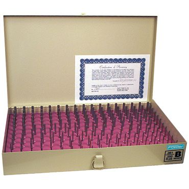 "Fowler, .061"" - .250"" Pin Gage Set, 53-880-260"