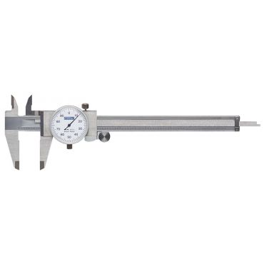"Fowler, 0-6"" Whiteface Dial Caliper, 52-008-007-0"