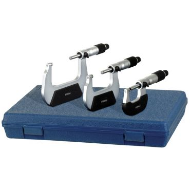 """Fowler, 0-4"""" Outside Inch Micrometer Set, 52-229-214-0"""