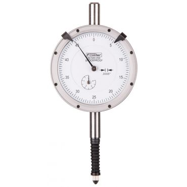 Fowler, X-Proof Dial Indicator by Fowler High Precision, 52-520-250-1