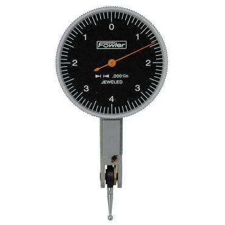 Fowler, 1 inch Horizontal Blackface Test Indicator, 52-563-771-0