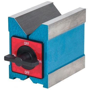Fowler, Magnetic V-Block 2-3/8 inch wide x 4 inch long x 3-7/8 inch high, 52-585-075-0