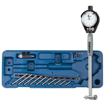 """Fowler, 2"""" - 6"""" Dial Bore Gage Set with Carbide Anvils, 52-646-300-0"""