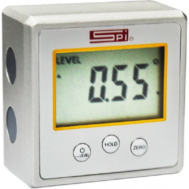 SPI, 0 to 90° Measuring Range, Magnetic Base Digital Protractor. 54325550, (BF54325550)