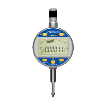 "Fowler, 0-1""/25mm Mark VI Electronic Indicator with Analog Display, 54-530-555-0"