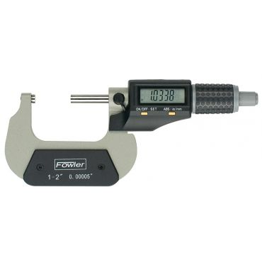 """Fowler, 1-2""""/25-50mm Xtra-Value II Electronic Micrometer, 54-870-002-0"""