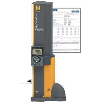 """Fowler, Sylvac 12"""" - 300mm BLUETOOTH Hi CAL Electronic Height Gage with ISO A2LA Certification, 54-931-300-BT-C"""