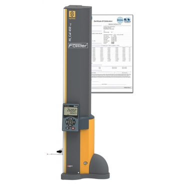 """Fowler, Sylvac 17.5"""" - 450mm BLUETOOTH Hi CAL Electronic Height Gage with ISO A2LA Certification, 54-931-450-BT-C"""