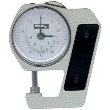 """Fowler,0.400"""" Dial Thickness Gage, 52-546-000"""