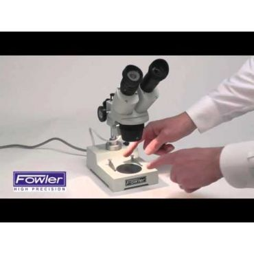Fowler, Deluxe 10/30X Stereo Microscope, 53-640-320