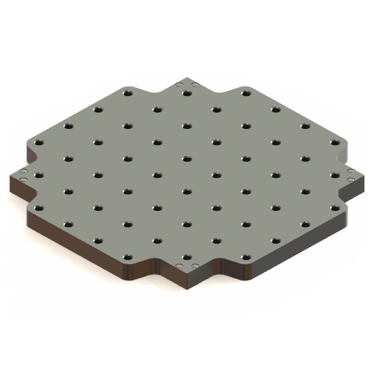 Inspection Arsenal, Indexable Loc-N-Load™ Plate, LNL-0606-4X