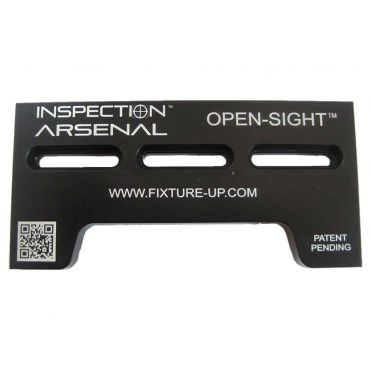Inspection Arsenal, Open-Sight™ Docking Rails – Aluminum - Inch, Docking rail – 6 inch x 3 inch, OS-DOCK-06