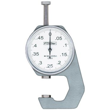"""Fowler,0.500"""" Dial Thickness Gage, 52-545-777,"""