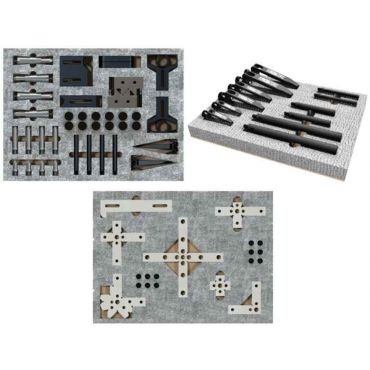 Inspection Arsenal, CMM Work Holding COMPLETE Kit (82 pcs) - Inch, TR-KIT-02