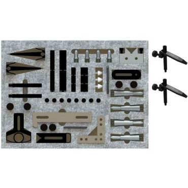 Inspection Arsenal, CMM Work Holding STARTER Kit (62 pcs) - Inch, TR-KIT-03